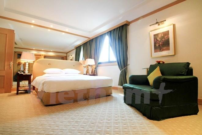Bên trong phòng tổng thống của 5 khách sạn sang nhất HN - Ảnh 16.