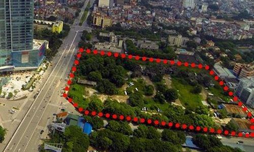 siêu đô thị trung tâm Hà Nội, dự án Vinhomes Metropolis, Lotte Center, căn hộ cao cấp