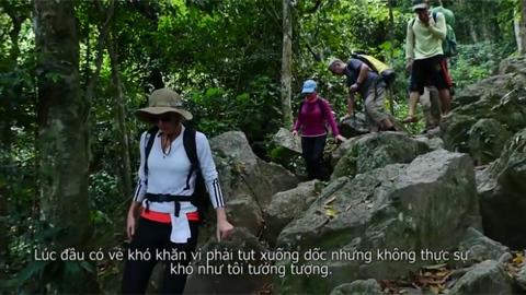 Đại sứ thăm hang Sơn DDooong - Quảng Bình