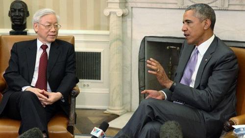 Tổng thống Obama, biển Đông, Tổng bí thư, Nguyễn Phú Trọng, ASEAN