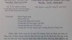 ĐH Thái Nguyên tạm dừng thi, cấp chứng chỉ tiếng Anh