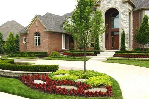 thiết kế sân vườn, thiết kế nhà, sân vườn đẹp