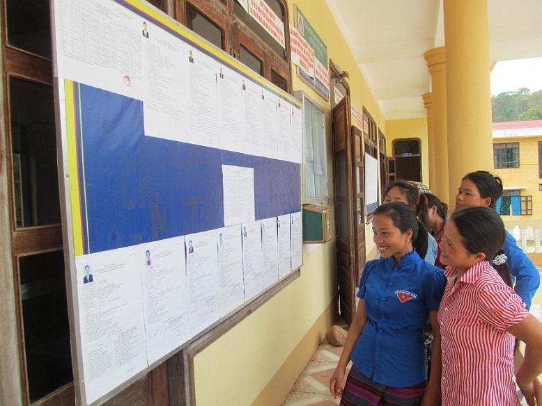 bầu cử đại biểu qh, bỏ phiếu, ứng cử viên, ủy ban bầu cử