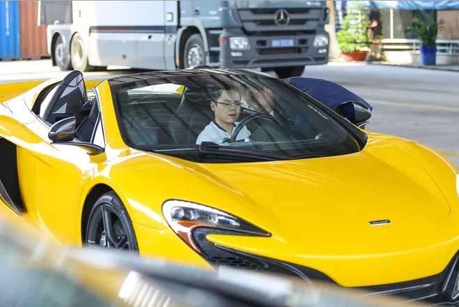 Cường đô la, Phan Thành, siêu xe, MacLaren, thiếu gia, sưu tập, chơi xe, ô tô, lái xe