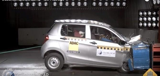 Xe hơi giá rẻ Ấn Độ bị đánh giá là kém an toàn