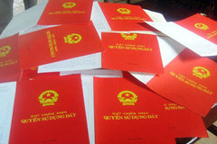 Hà Nội: Tháng 6/2017 hoàn thành cấp 'sổ đỏ' cho dân