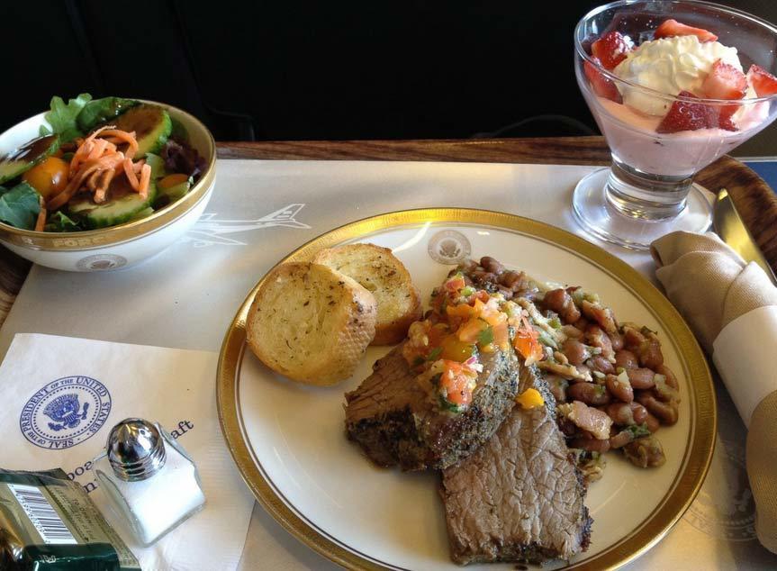 Không lực Một, thức ăn, thực phẩm, tổng thống, Obama