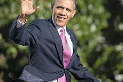 """Gu thời trang """"sành điệu"""" của Obama"""