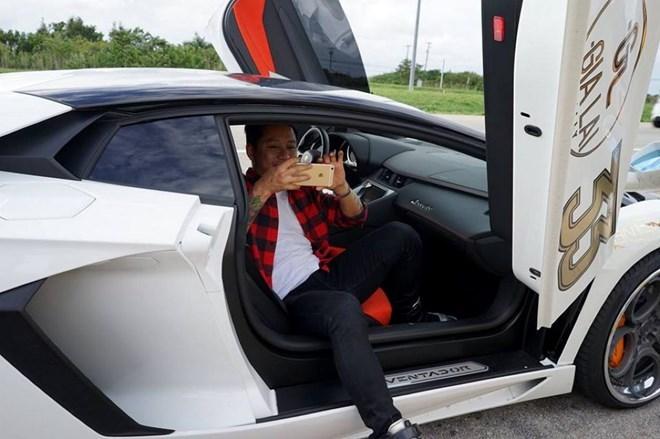 xế cưng, ca sĩ Tuấn Hưng,  Ferrarri 458 Italia, Lamborghini Aventador, sưu tập, siêu xe, ô tô