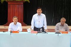 Bí thư Thăng đề nghị cách chức trưởng phòng TN&MT 'vô cảm'