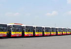 23 xe buýt mới chạy tuyến Mai Động- Mỹ Đình