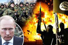 """Putin lập """"siêu quân đội"""" diệt IS khắp mọi nơi"""