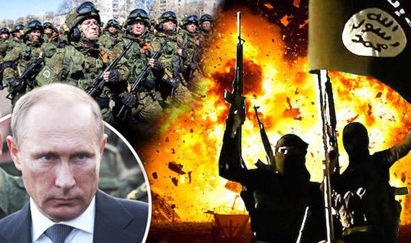 Putin lập 'siêu quân đội' diệt IS khắp mọi nơi