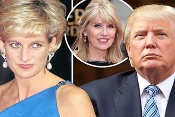 Công nương Diana từng 'chết khiếp' tỷ phú Donald Trump