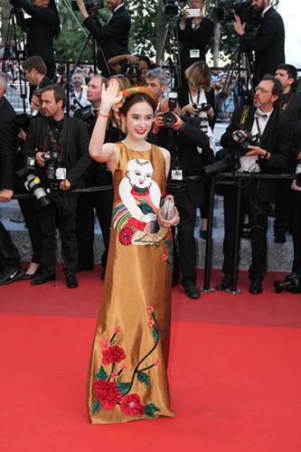 Angela Phương Trinh đi Cannes, Angela Phương Trinh, LHP Cannes 2016