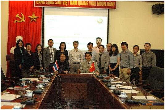 hạt nhân, hợp tác, Việt Nam, Thái Lan