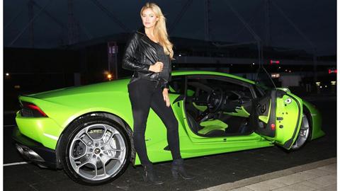 Huracan, giá Lamborghini Huracan, phan thành, Lamborghini Huracun, Siêu xe Lamborghini Huracan xanh cốm