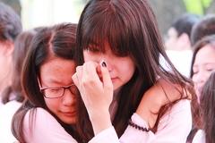 Nước mắt rơi trong lễ trưởng thành