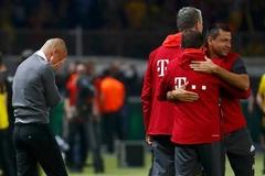 Pep khóc trong ngày chia tay Bayern