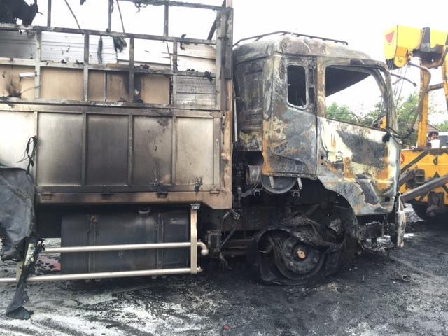 tai nạn giao thông, xe giường nằm bốc cháy, tai nạn xe giường nằm, tai nạn bình thuận