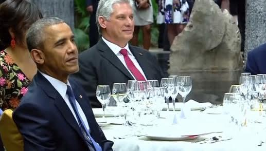 Tổng thống Mỹ Obama, thực đơn chiêu đãi ông obama