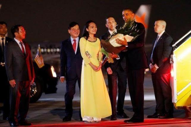 Tổng thống mỹ Obama, Hà Nội, Chủ tịch nước Trần Đại Quang