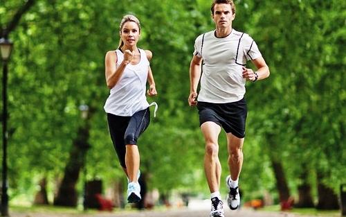 chạy bộ, tim mạch, ung thư, lười vận động, loãng xương