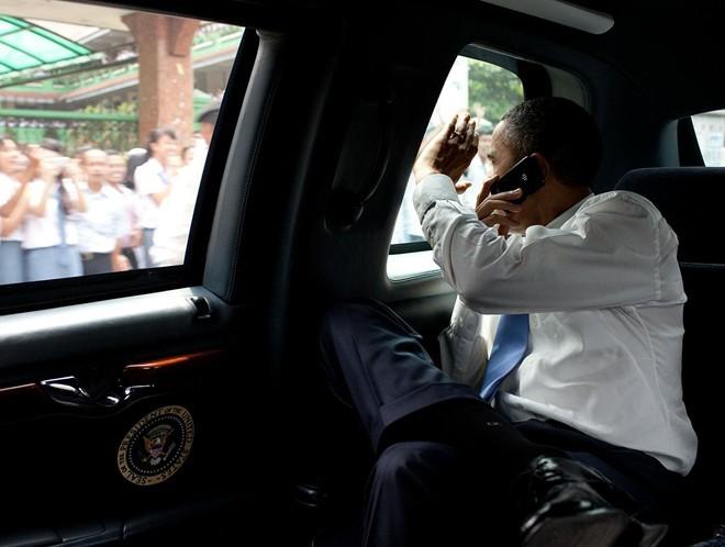 Tổng thống Obama, chiếc Sectera Edge, BlackBerry, bảo mật đặc biệt, ông Obama, SecureVoice, điện thoại Blackberry,