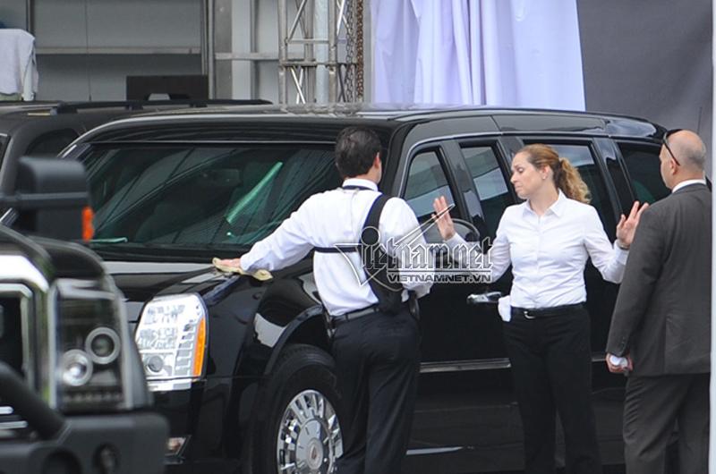 tổng thống Obama, Obama thăm việt nam, Obama đến Việt Nam, Obama, tổng thống Mỹ, Barack Obama, nữ tài xế