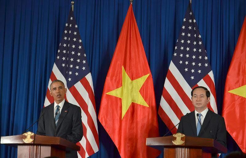 Chủ tịch nước: Hoan nghênh Mỹ dỡ bỏ cấm vận vũ khí VN