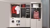 Không gian sống thông minh bắt đầu từ chiếc tủ quần áo