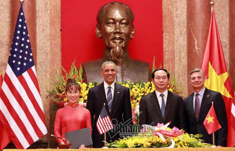 Vietjet air, Vietjet mua 100 máy bay, Boeing 737, tổng thống Mỹ đến Việt Nam, Obama