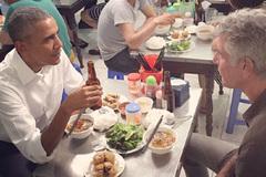 Tổng thống Obama đi ăn bún chả Hà Nội