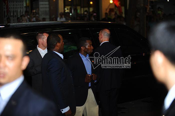Tổng thống Obama, mật vụ Mỹ, xe đặc chủng, Obama thăm việt nam, Obama đến Việt Nam, Obama, tổng thống Mỹ, Barack Obama