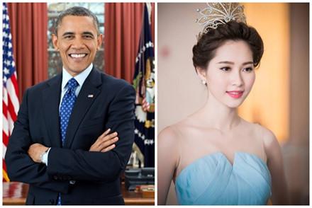 Hoa hậu Việt Nam, Đặng Thu thảo, Lan Phương, Tổng thống Obama, Obama, Phương Trinh, Cannes, Angela Phương Trinh, Hoa hậu biển, Obama đến Việt Nam, Obama thăm việt Nam