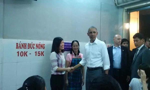 quán bún chả, Tổng thống Mỹ, ghé thăm, Obama, đường phố, quán ăn, vỉa hè,