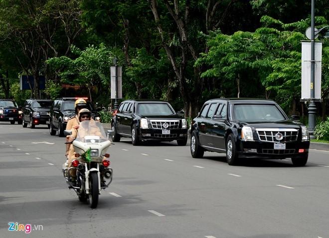Tổng thống Obama có bao nhiêu Cadillac One?