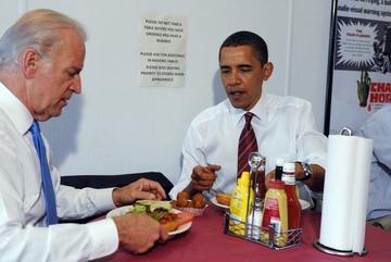 Thú vui ăn uống bình dân của Obama