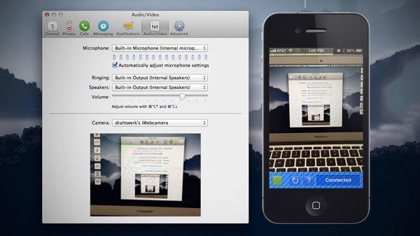 iPhone, webcam, máy tính, mẹo, tuyệt chiêu