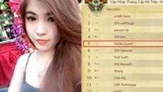 HOT: Lần đầu tiên có một nữ game thủ LMHT vào top 5 rank Thách Đấu Việt
