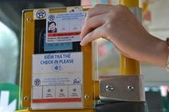 Hà Nội sắp sử dụng thẻ điện tử cho xe buýt