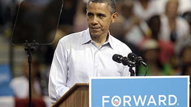 'Bảo bối' giúp Obama phát biểu trơn tru