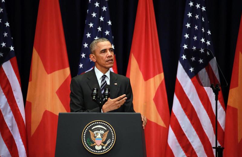 Obama đến Việt Nam, những câu nói ấn tượng của ông Obama,