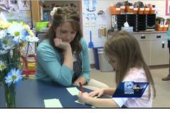 Cô giáo Mỹ hiến thận cho học trò