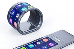 Smartphone bẻ cong thành vòng đầu tiên thế giới ra mắt