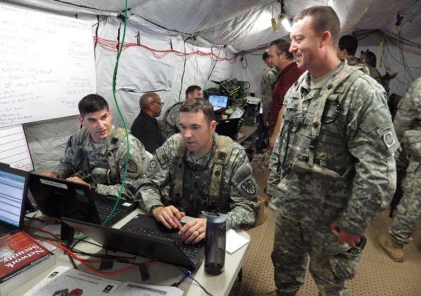 chiến tranh mạng, quân đội Mỹ, hacker