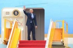 Tổng thống Obama nói gì trước khi rời VN?