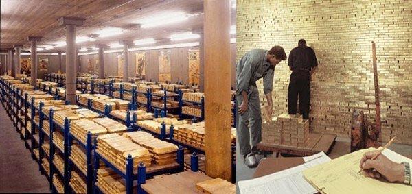 Kho vàng ngàn tấn bí ẩn sau cánh cửa sắt ngàn tấn