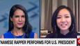Nữ rapper Việt hát cho Obama lên CNN