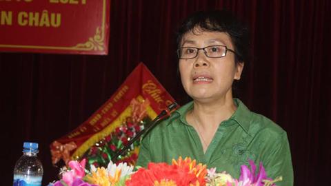 bầu cử đại biểu QH, Vợ Phó Thủ tướng Vương Đình Huệ , Nguyễn Vân Chi